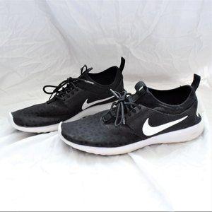 Nike Juvenate Black Running Shoes Sneakers Size 8